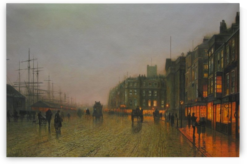 Liverpool Docking From Wrapping by John Atkinson Grimshaw