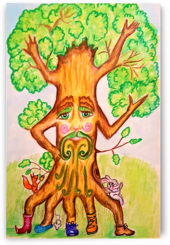 The tree of the prophetic forest by Ivan Venerucci Italian Style