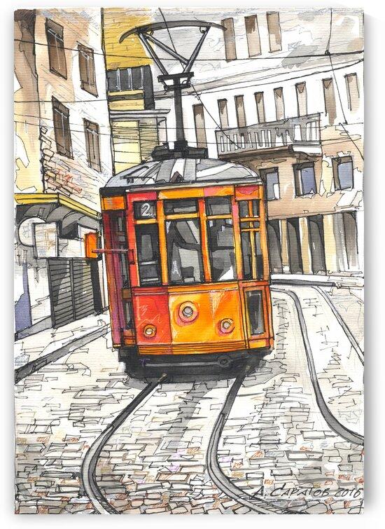 tram by Andrey Saratov