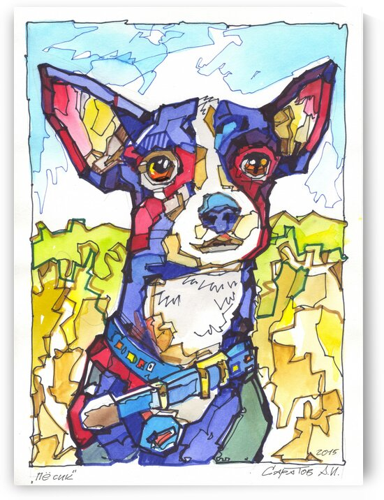 bluedog by Andrey Saratov