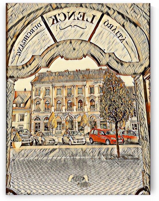 LENCK CORRIDOR by Ferenc Lengyel