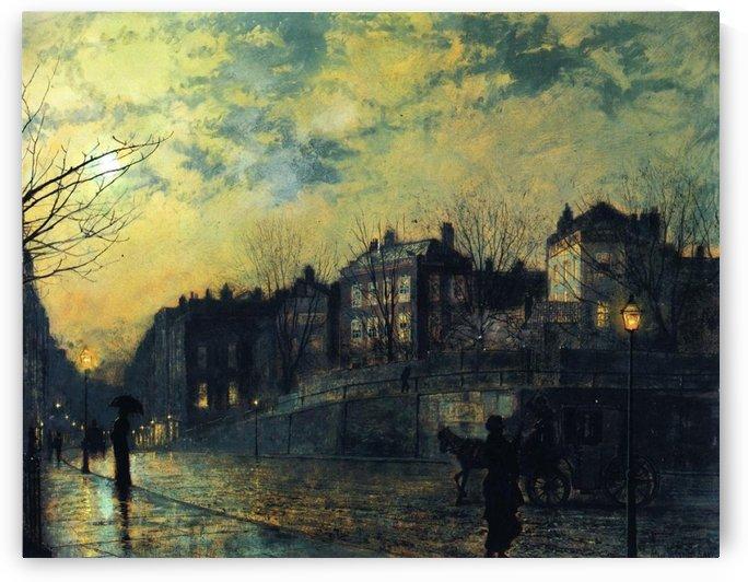 Hampstead by John Atkinson Grimshaw