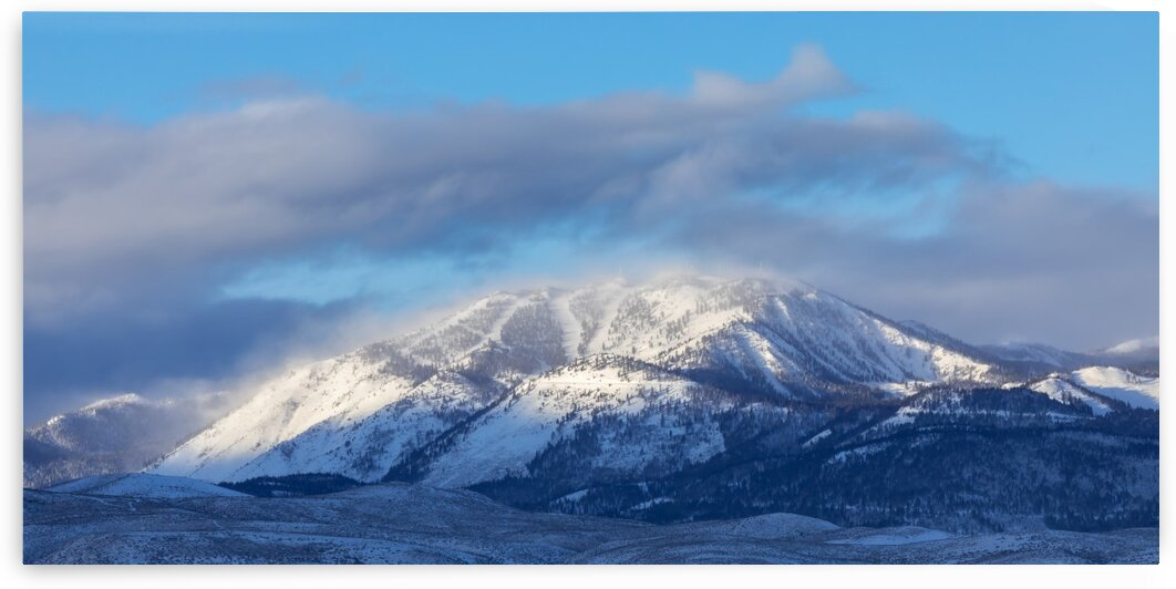 Winter Arrives at Mt. Rose by Nicholas