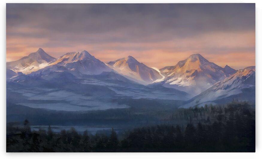 Glacier Peak Washington State by Steven Sandner