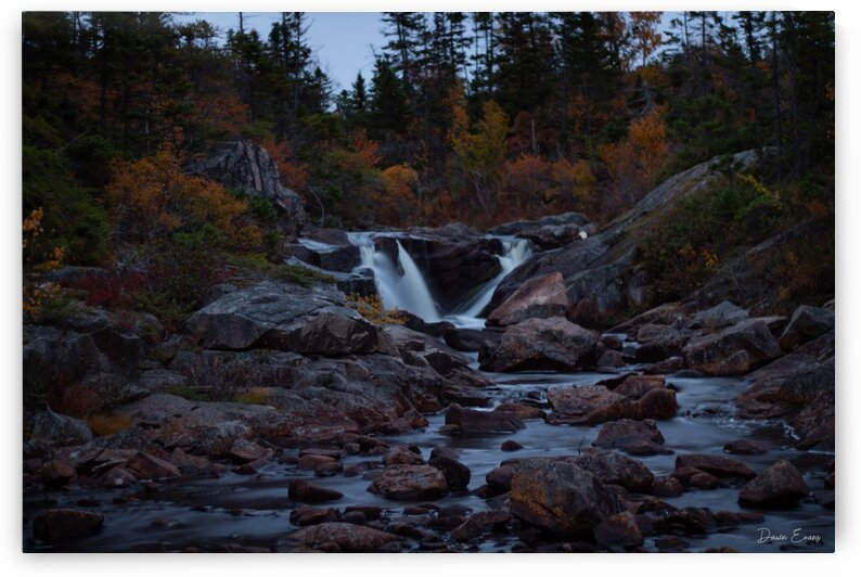 Waterfall by Dawn Evans
