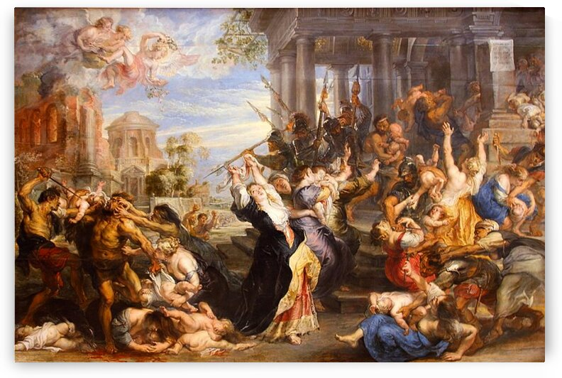 Peter Paul Rubens: Massacre of the Innocents HD 300ppi  by Stock Photography