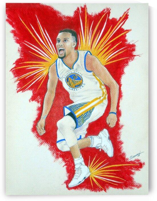 Steph Curry by Jayne Somogy