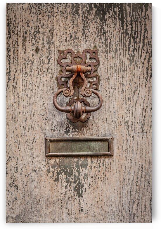 Rusty Door Knocker by bj clayden photography