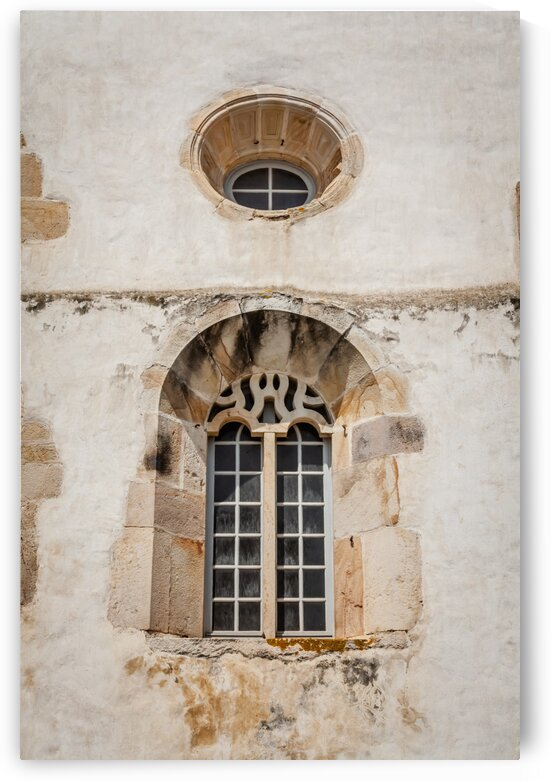 Medieval Window with Roundel by bj clayden photography
