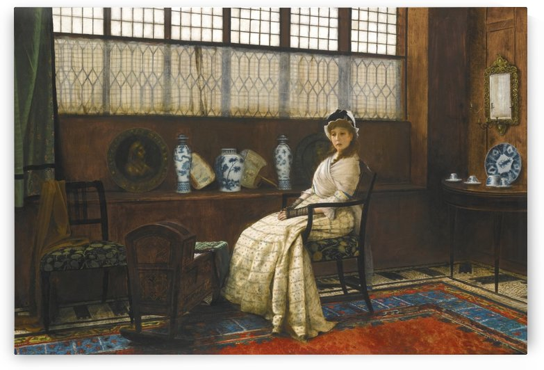 The Cradle Song by John Atkinson Grimshaw