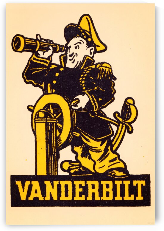 Vintage Vanderbilt Commodore Art by Row One Brand
