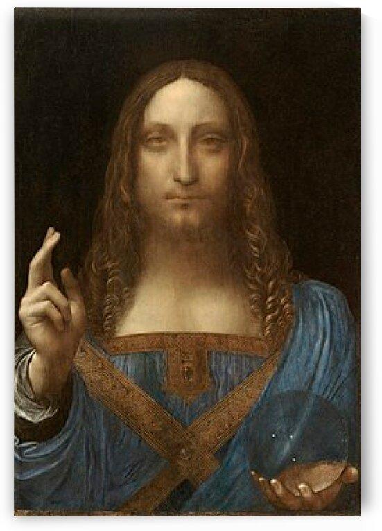 Leonardo da Vinci: Salvator Mundi - Savior of the World HD 300ppi by Stock Photography