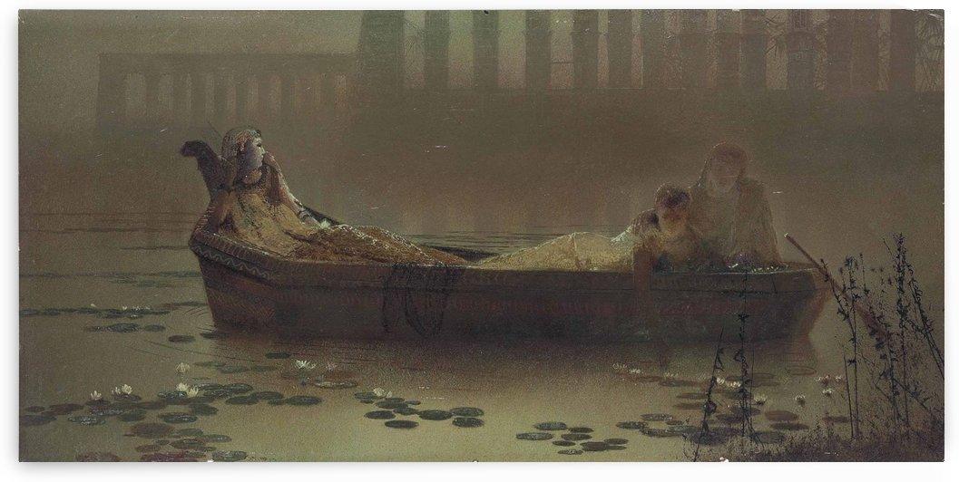 The Lotus gatherers by John Atkinson Grimshaw