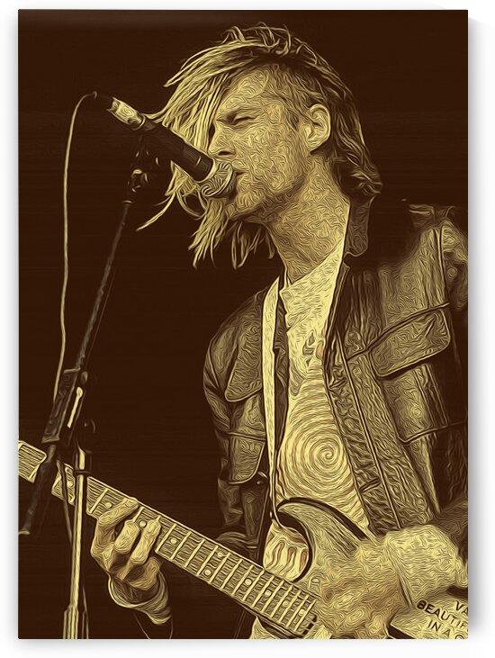 Kurt Cobain Vintage 2 by RANGGA OZI