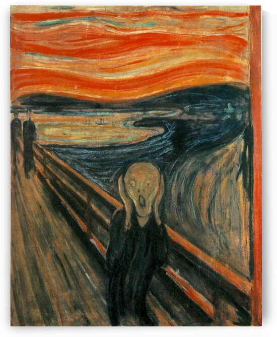 The Scream | Edvard Munch by LaPassion Fine Arts
