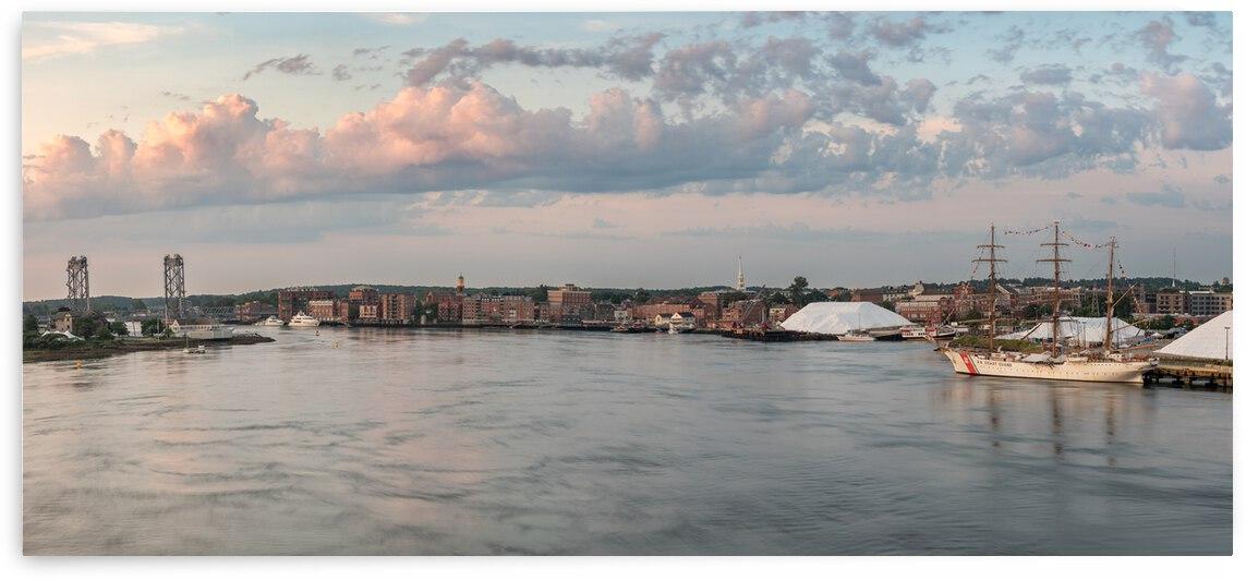 Barque Eagle Meets Portsmouth by Matty V clixpix