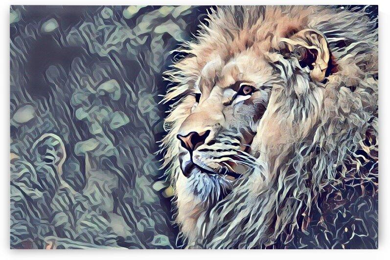 Lion Gemalde by GromHusar Gallery