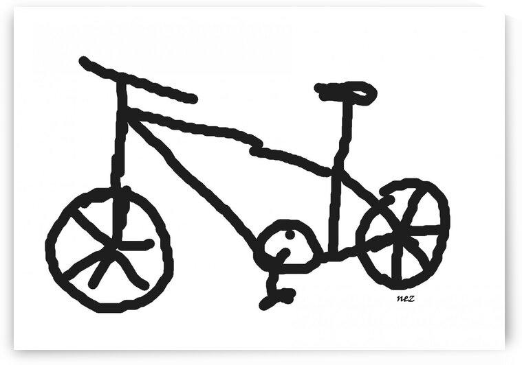 My Bike by Efrain Montanez