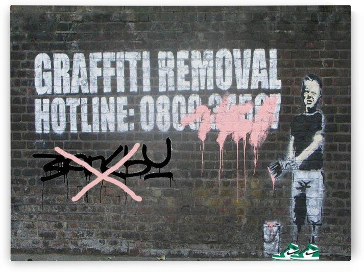 Removal banksy graffiti by Betojimenez
