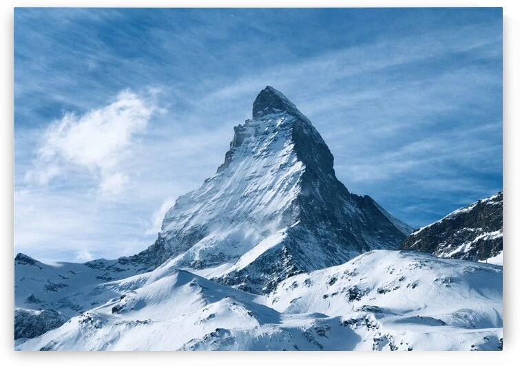 The Matterhorn Zermatt by World by Jennith