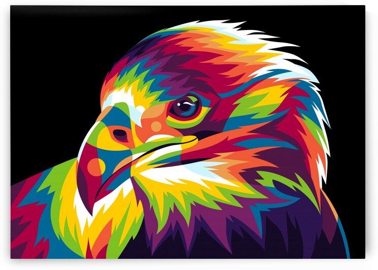 Falcon Bird of Prey by wpaprint