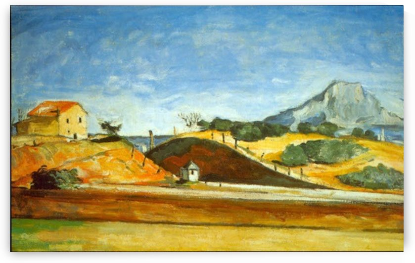 Railway Cutting by Cezanne by Cezanne