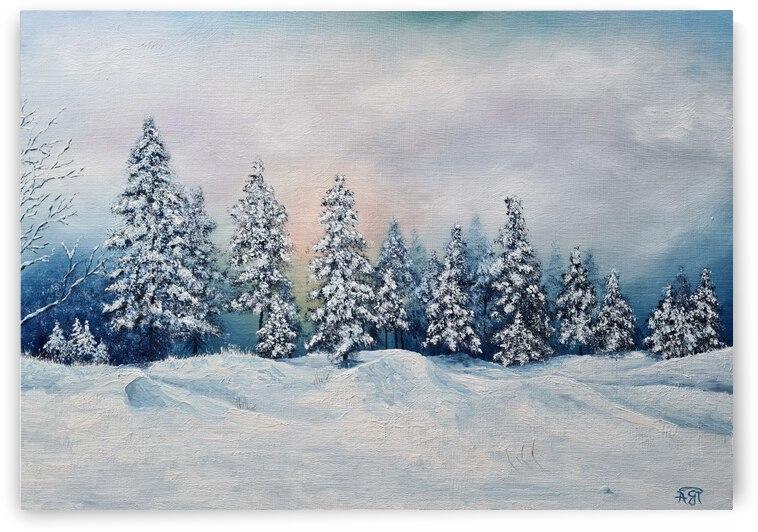 Winter Landscape by Feerie