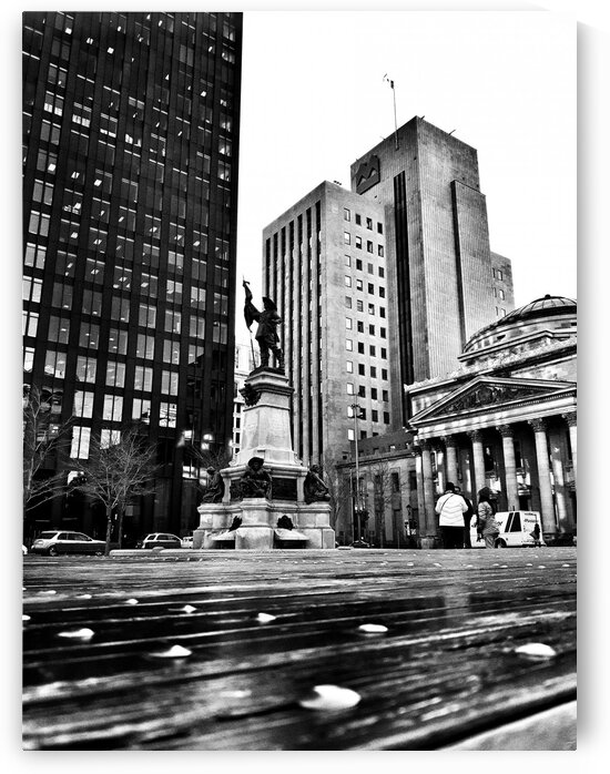 Old Montreal by Jacques Frenette