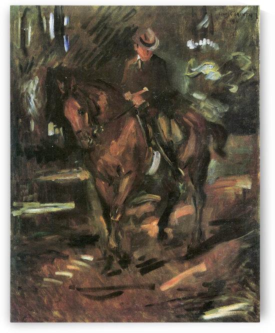 Morning Ride by Lovis Corinth by Lovis Corinth