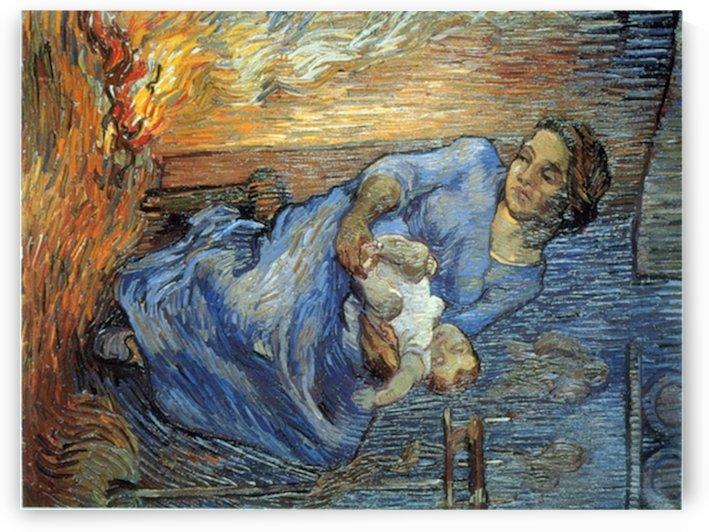Rake by Van Gogh by Van Gogh