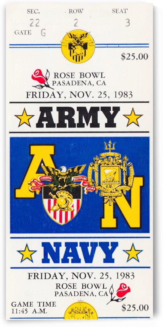 1983 Army vs. Navy by Row One Brand