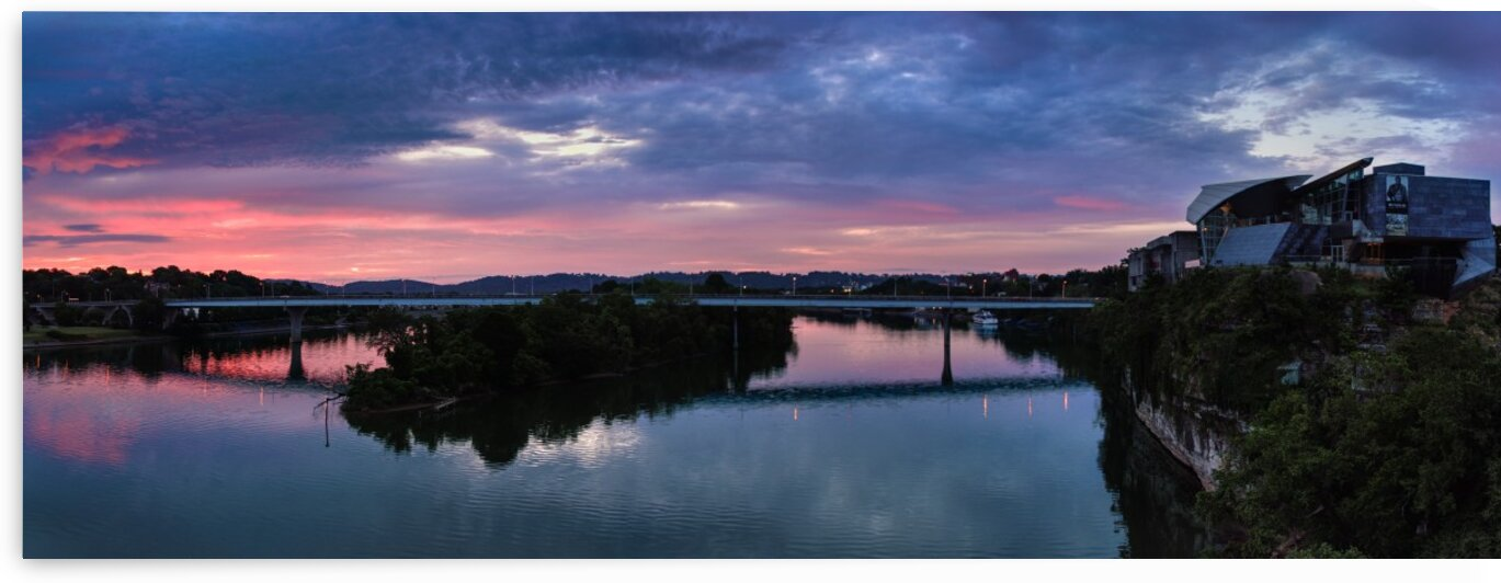 Museum Sunrise Panorama 5 by SimplyNoogaPics