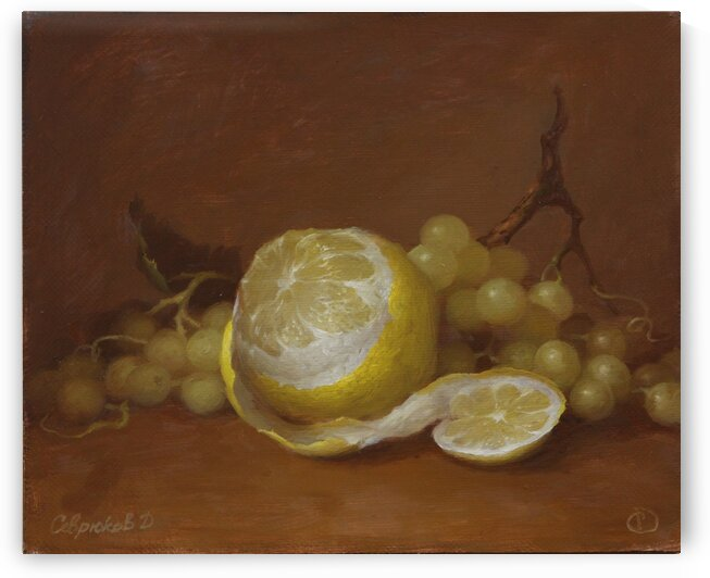 Lemon.Canvasoil.25 30cm.2020 by Dmitry Sevryukov
