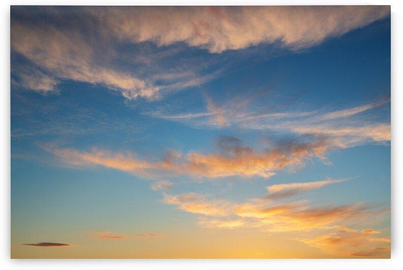 Sunset sky by Aquamarine