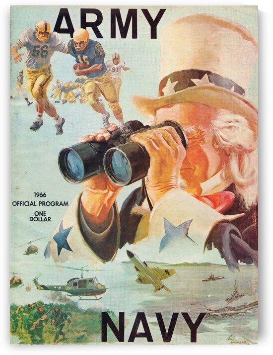 1966 Army vs. Navy Football Program by Row One Brand