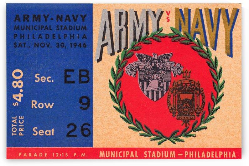 1946 Army vs. Navy by Row One Brand
