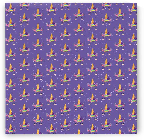 Purple Unicorn by rizu_designs