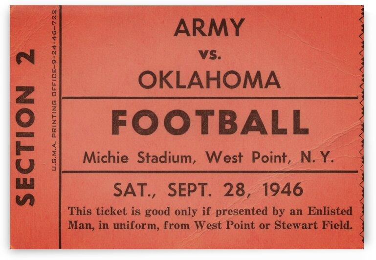 1946 Army vs. Oklahoma by Row One Brand
