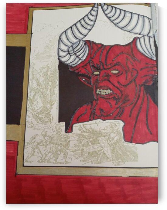 Devil red and gold by Betojimenez