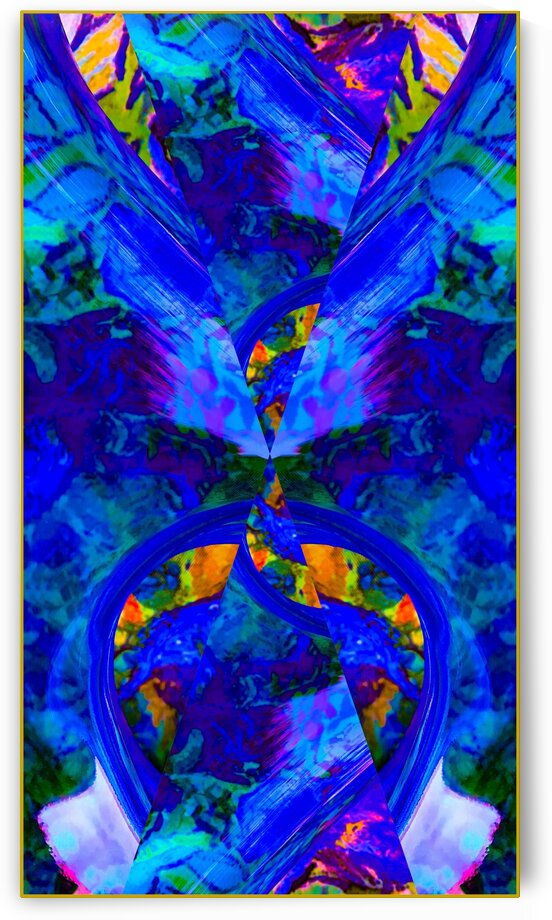 BLUE UNFOLDING by Lisa Joy Newcomb
