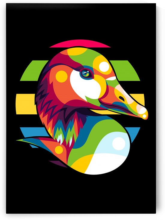 Colorful Duck by wpaprint
