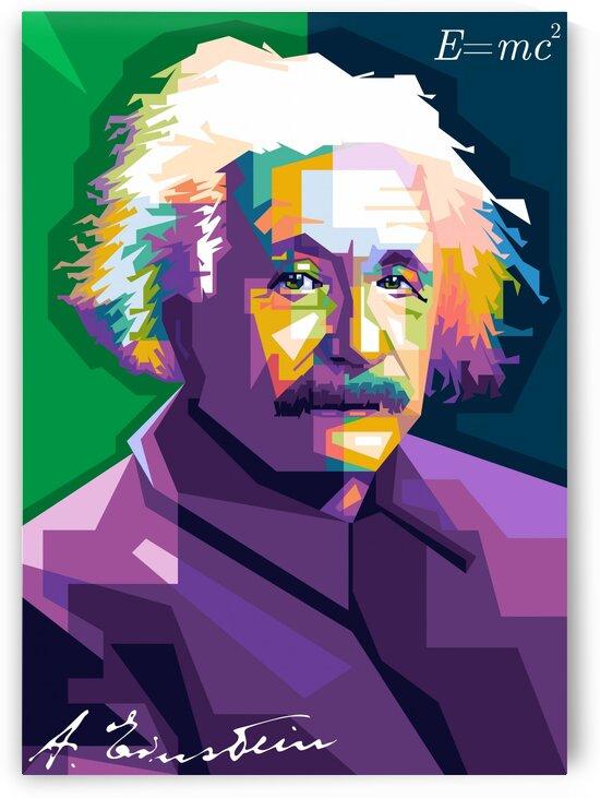 Albert Einstein by wpapartist