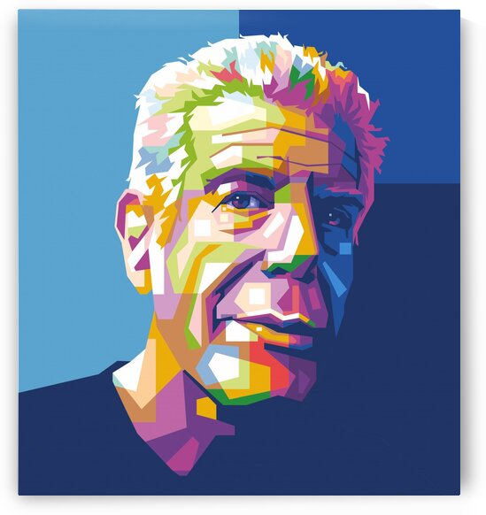 Anthony Bourdain by wpapartist