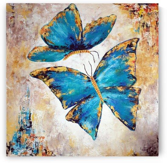 Colorful butterflies by Iulia Paun ART Gallery