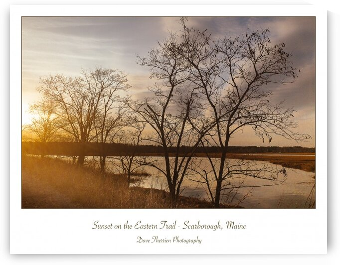Sunset on the Eastern Trail by Dave Therrien