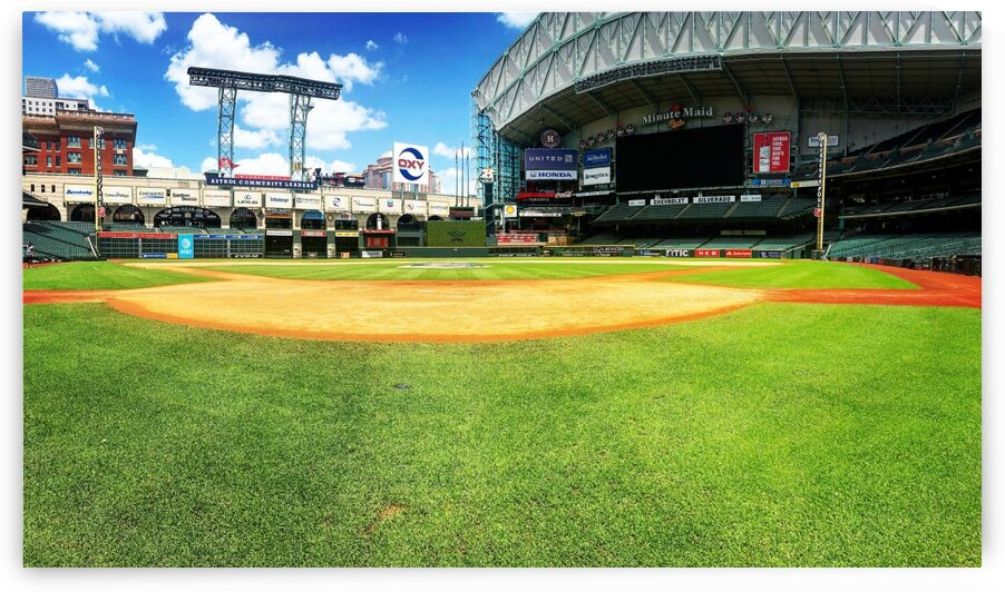Minute Maid Park by Roger Smith Jr