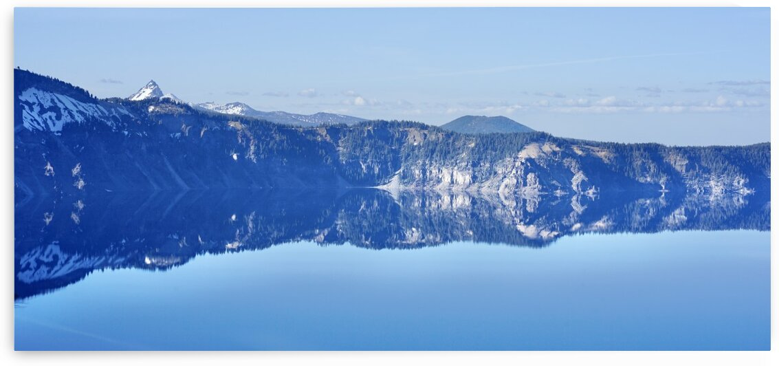 Crater Lake Panorama by Scott Deyo