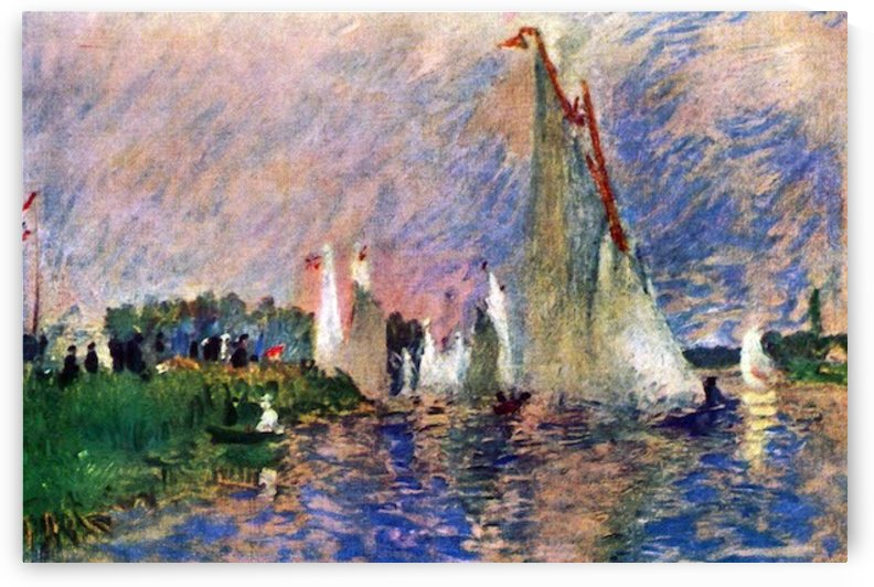Regatta in Argenteuil by