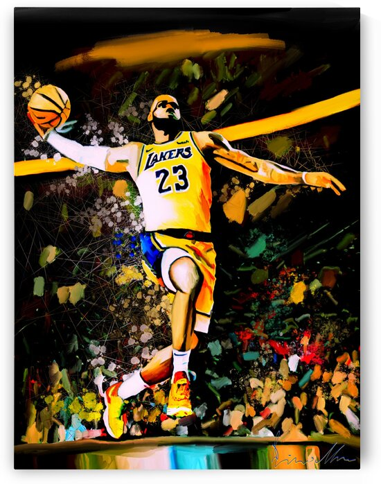LeBron James Destined For Greatness by Enrico Moses
