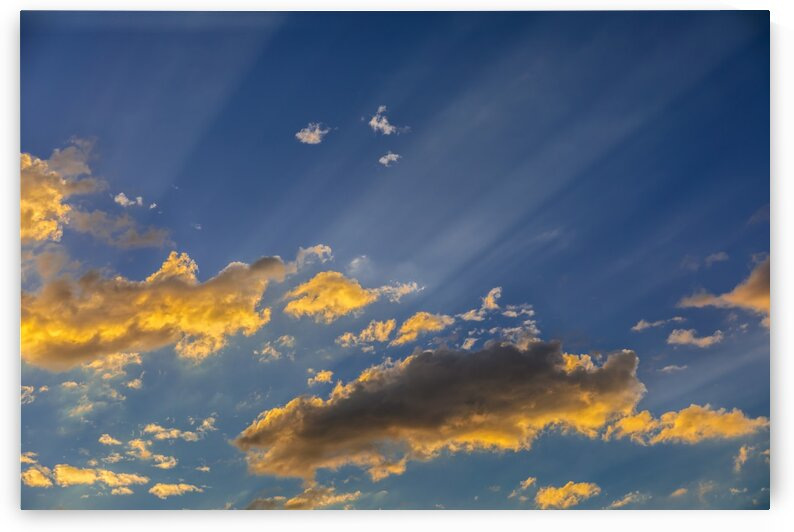 Clouds and Sunbeams by Nicholas